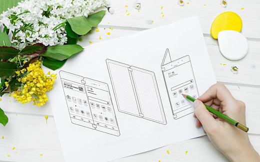 Слух: складной смартфон Samsung будет стоить почти $2000