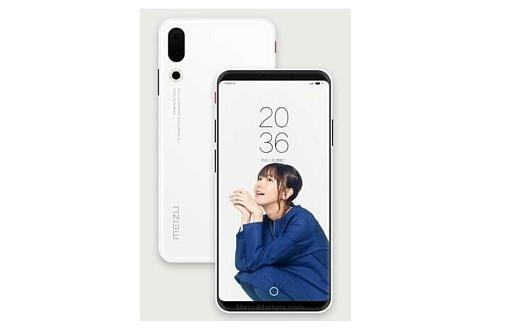 Meizu 16 получит сканер отпечатков пальцев под стеклом дисплея