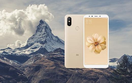 Xiaomi Mi A2 появился на сайте швейцарского магазина