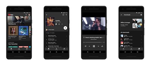 Google запустила сервисы YouTube Music и YouTube Premium