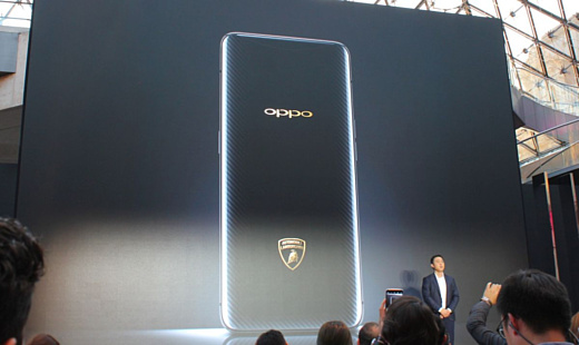 Oppo Find X Automobili Lamborghini Edition — первый смартфон с поддержкой Syper VOOC