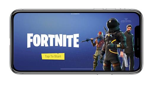 За три месяца iOS-версия Fornite заработала $100 млн