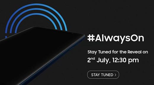 2 июля Samsung анонсирует новый недорогой смартфон
