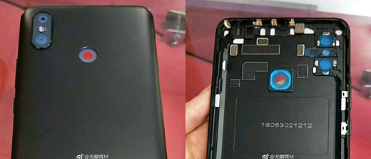 Утечка: фото задней панели Xiaomi Mi Max 3