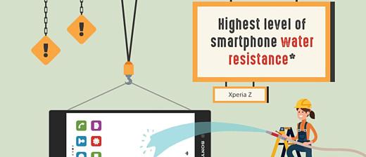 Инфографика: Sony похвалилась своими достижениями в области смартфонов