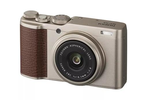 Fujifilm показала новую компактную камеру XF10