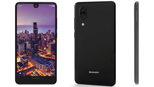 Sharp выпустила два новых недорогих Android-смартфона