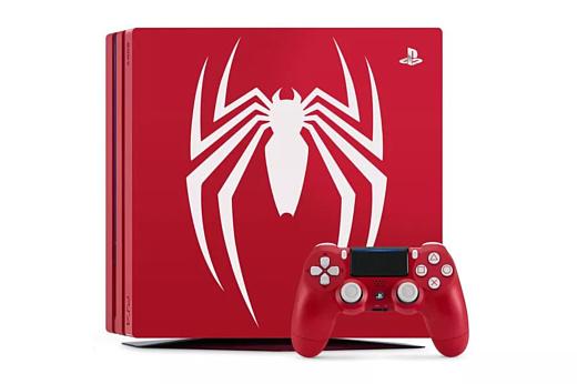 Sony анонсировала PlayStation 4 Pro, посвященную Человеку-пауку
