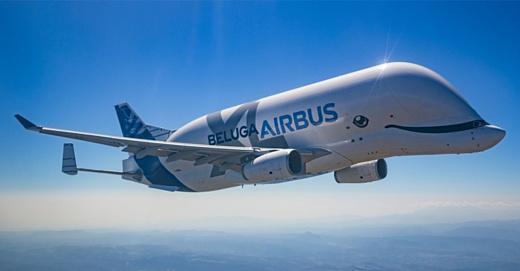 Airbus BelugaXL совершил свой первый полет