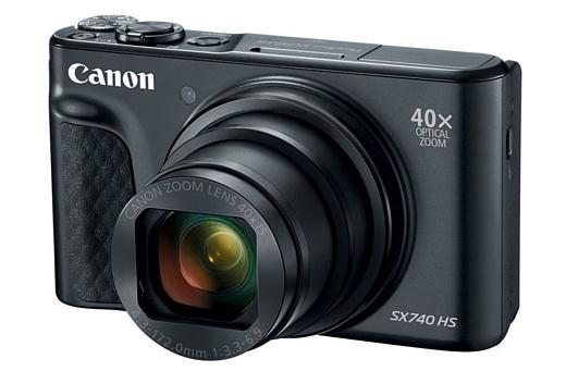 Canon представила камеру PowerShot SX740 HS
