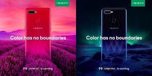 В сеть попал список характеристик Oppo F9