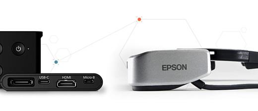 Epson представила новые умные очки MOVERIO