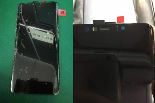 В сеть попали фото передней панели Huawei Mate 20