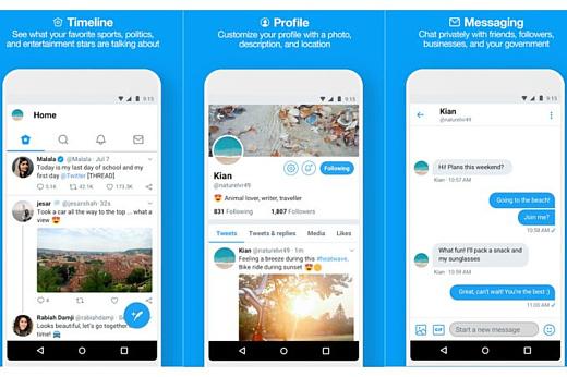 Twitter Lite выпустили в Беларуси