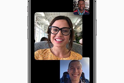 В релизной версии iOS 12 не будет групповых звонков через FaceTime