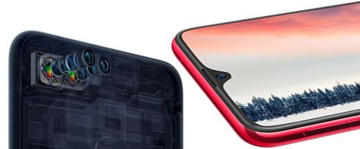 Oppo анонсировала селфи-смартфон F9