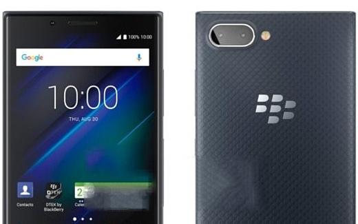 Утечка: пресс-рендеры BlackBerry Key2 LE