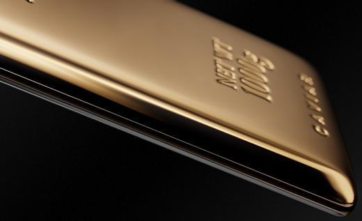 Caviar продает Galaxy Note 9 с килограммом золота на задней панели