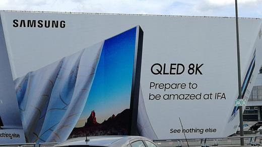 На IFA 2018 Samsung продемонстрирует 8K-телевизор