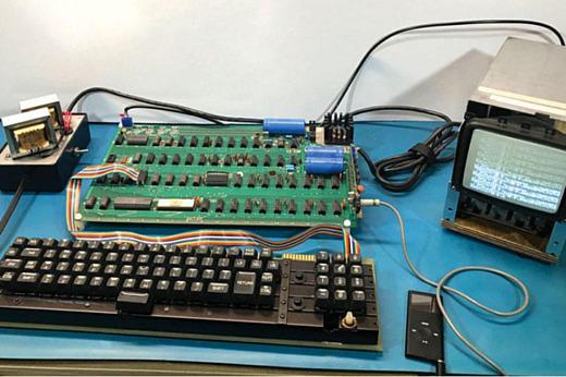 Apple-1 в рабочем состоянии выставят на аукцион