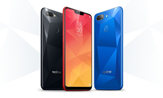 Oppo анонсировала бюджетный смартфон Realme 2
