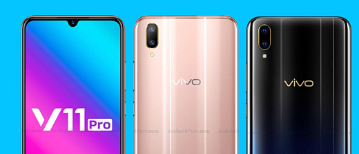 В сеть попали новые рендеры Vivo V11 Pro
