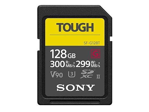Sony анонсировала защищенные SD-карты SF-G TOUGH