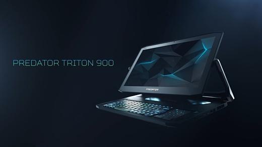 Predator Triton 900 — новый безумный геймерский ноутбук Acer