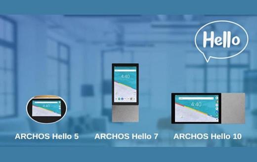 Archos представила умные дисплеи Hello 5, 7 и 10