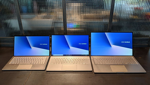 Asus анонсировала новые ноутбуки ZenBook 13, 14 и 15