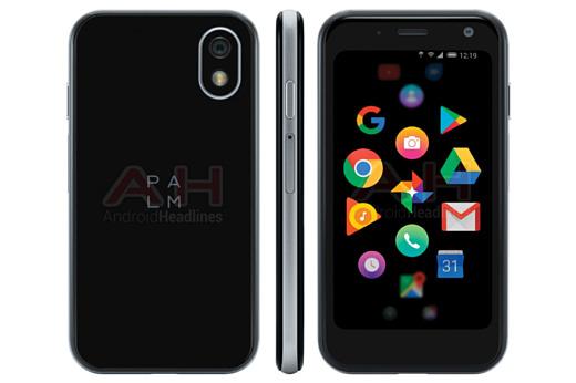 Утечка: новое изображение Android-смартфона Palm