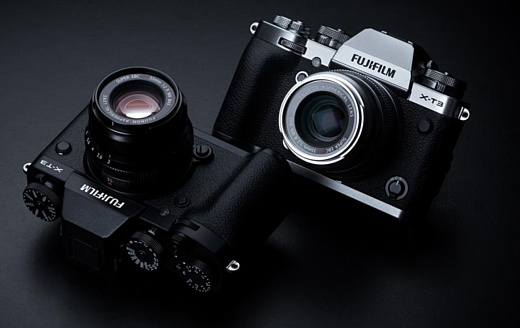 Fujifilm анонсировала беззеркальную камеру X-T3