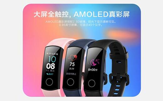 Huawei представила новый умный браслет Honor Band 4