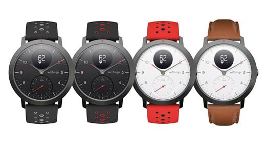 Withings показала умные часы Steel HR Sport