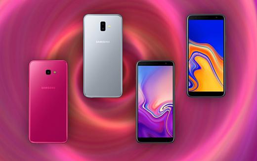 Samsung продемонстрировала новые недорогие смартфоны Galaxy J4+ и J6+