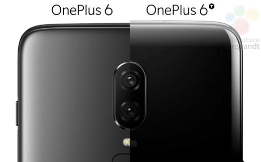 В сеть попал рендер OnePlus 6T