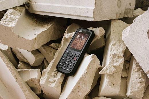 Cat анонсировала защищенный 4G-фичерфон B35