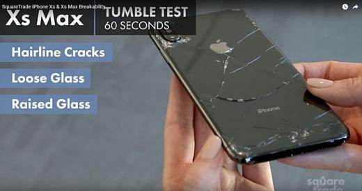 Видео: дроп-тест iPhone Xs и iPhone Xs Max закончился неудачей
