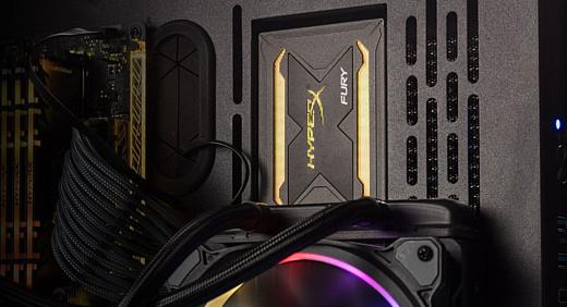 Kingston представила SSD-накопитель с RGB-подсветкой