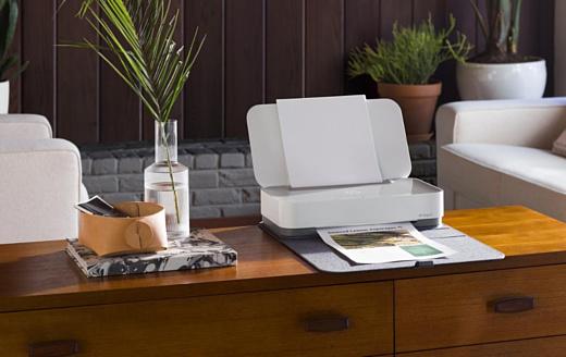 HP анонсировала стильный принтер Tango