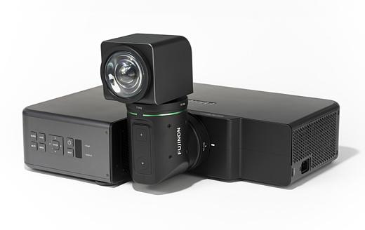 Fujifilm показала необычный проектор с поворотным объективом