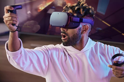 Facebook и Oculus анонсировали автономный VR-шлем Quest