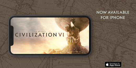 Sid Meier's Civilization VI появилась на iPhone