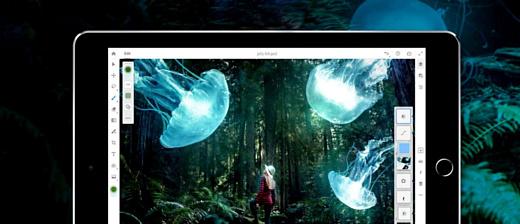 Adobe анонсировала Photoshop CC и Premiere Rush CC для iPad