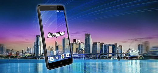Energizer анонсировала бюджетный смартфон E500S с Android Go