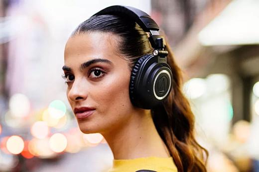 Audio-Technica выпустила беспроводные наушники M50xBT