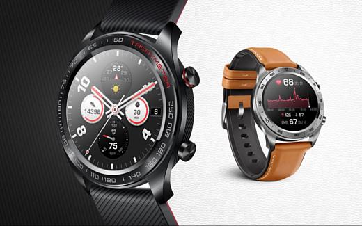 Honor Watch Magic — уменьшенные и более дешевые Huawei Watch GT