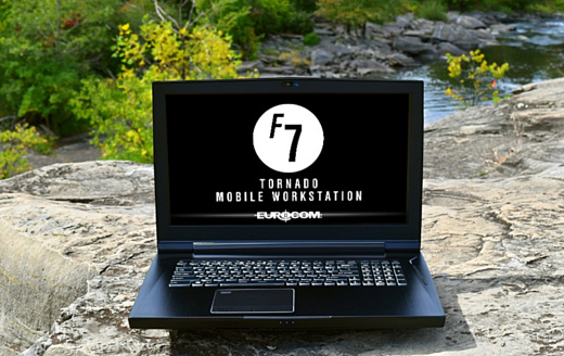 Eurocom Tornado F7W — мобильная рабочая станция за $3500