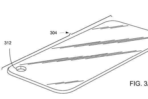 Apple запатентовала смартфон с отверстием в экране