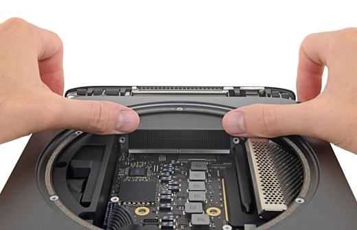 Эксперты iFixit открыли новый Mac Mini